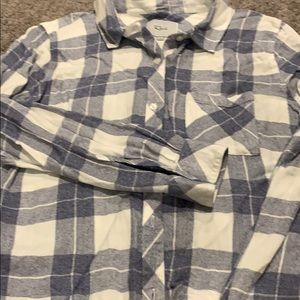 Rails flannel shirt